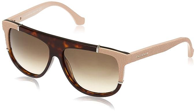 ceb2d50841 Sunglasses Balenciaga BA 25 BA0025 52B dark havana   gradient smoke ...
