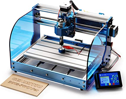 SainSmart Genmitsu 3018-PROVer CNC Router Machine with GRBL Offline Control, Limit Switches & Emergency-Stop, XYZ Working Area 300 x 180 x 45mm: Amazon.co.uk: DIY & Tools