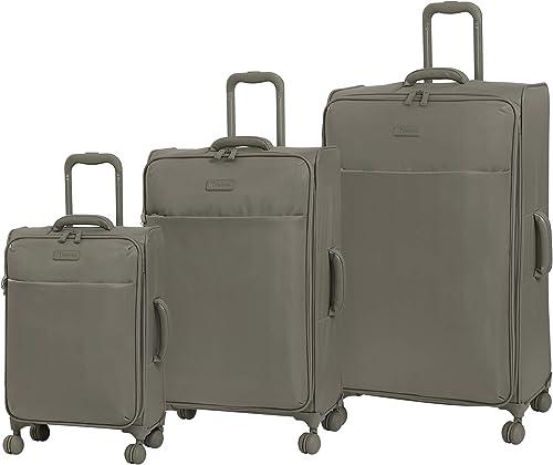 it luggage Lustrous Expandable Lightweight 3 Piece Set, Cobblestone, One Size