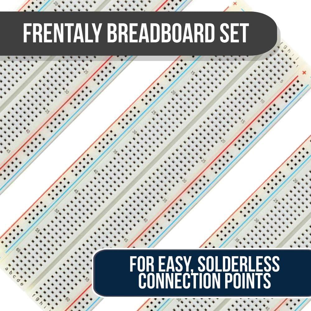 3X Test Hook /& Mini 400 Points Prototype PCB Solderless Breadboard Protoboard