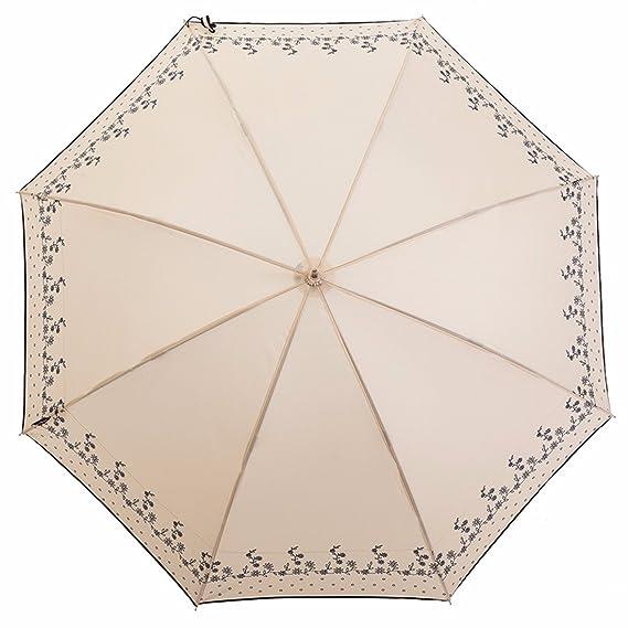 SSBY Pequeño Fresco Ultra Light Puntos Mango Largo Paraguas Estudiantes Japoneses Creativo Paraguas Paraguas De Sol Doble Paraguas De Sol Hembraun: ...