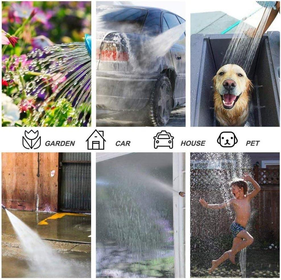 Garden Hoses With Nozzles Spray Guns,7.5m-30m Magic Expanding Flexible Hose,3 Times Expandable Watering Hose,Sprinkler Watering Sets,7.5m+Foamkettle 15m+foamkettle