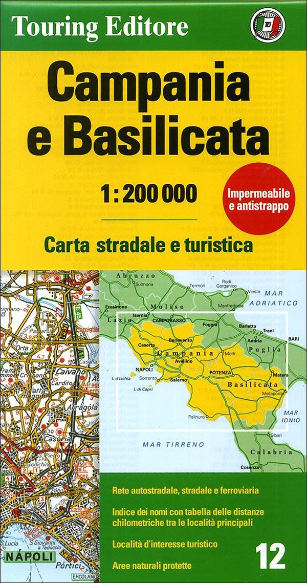 Download Campania e Basilicata Carta Stradale e Turistica 1:200 000 (Regional Road Map) ebook