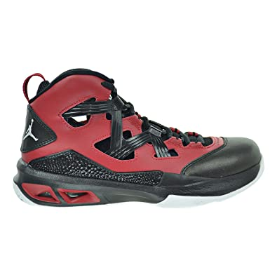 Jordan Melo M9 (GS) Big Kid s Shoes Gym Red White Black 552655 f0f195484