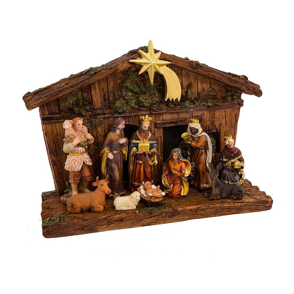 Kurt Adler 11-Piece Nativity Set N0287