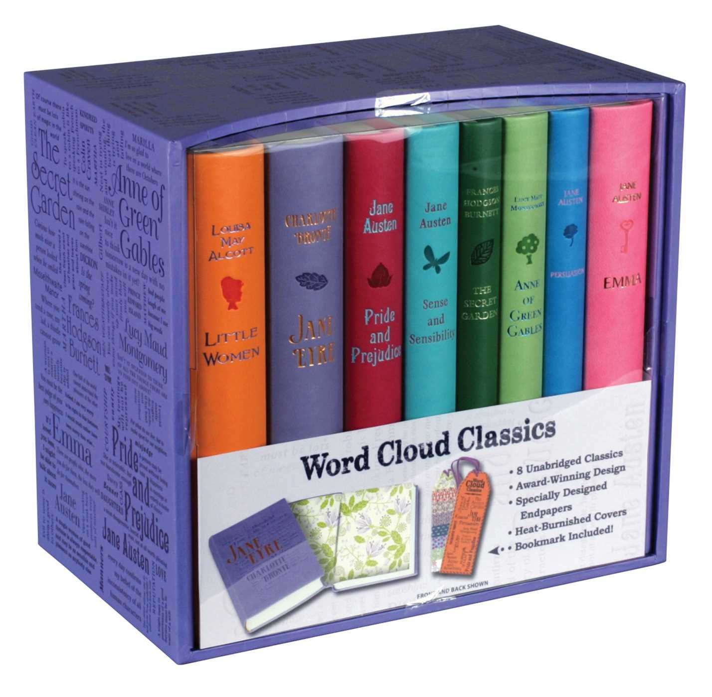 Word Cloud Box Set: Lavender: Amazon.es: Bronte, Charlotte, Alcott, Louisa May, Austen, Jane, Burnett, Frances Hodgson, Montgomery, Lucy Maud: Libros en idiomas extranjeros
