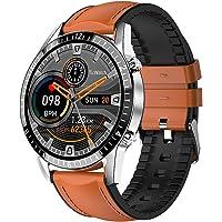 Relojes Inteligentes Hombre, Pantalla Táctil Completa, Elegante Podómetro Clásico Ejercicios, Monitor Frecuencia…