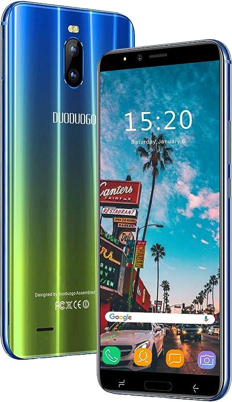 4 G teléfonos móviles, 6 Pulgadas 2 GB + 16 GB Quad Core Android 8 MP GPS Triple Ranura 2 MicroSIM + 1 MicroSD Smartphone Oferta del día batería 4800mAh: Amazon.es: Electrónica