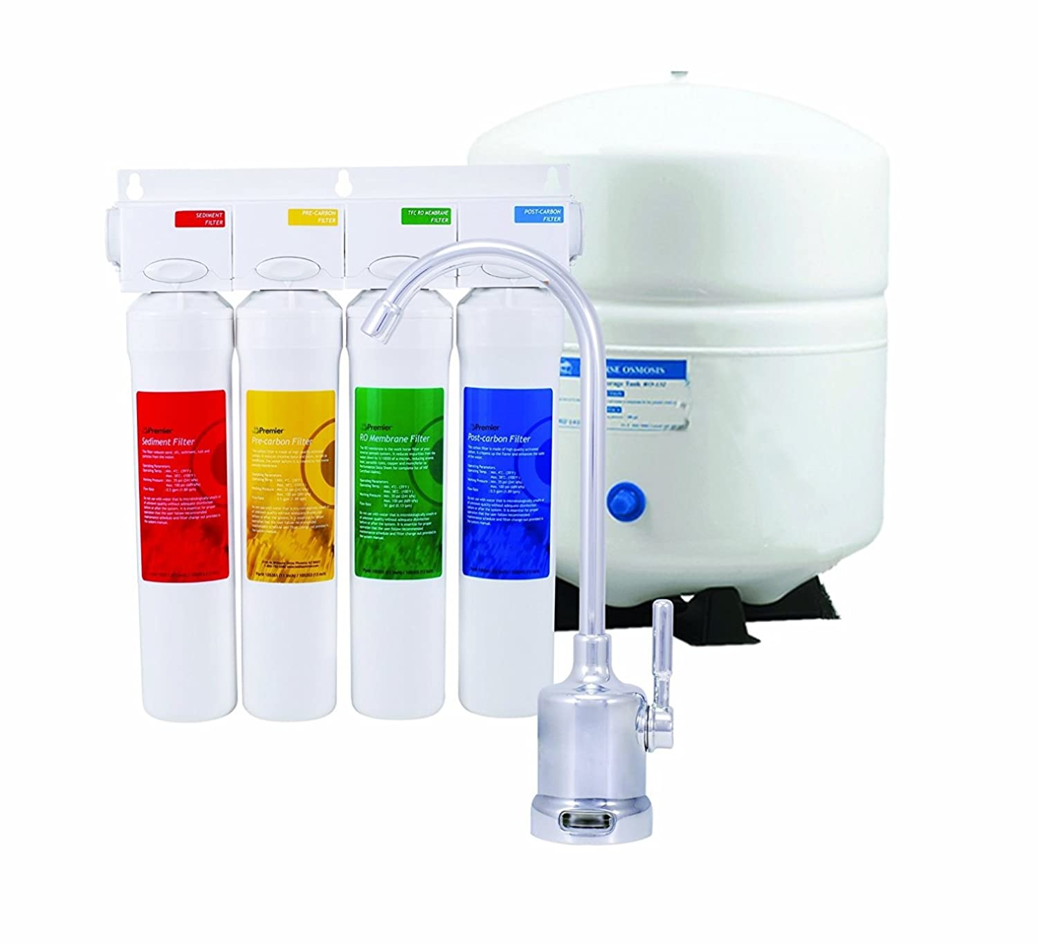 Watts Premier RO-Pure 531411 4-Stage Reverse Osmosis Water ...