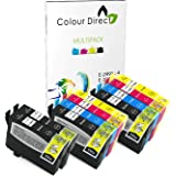 Colour Direct - 10 Compatible Ink Cartridges - 29XL Replacement For Epson Expression Home XP-235 XP-245 XP-247 XP-332 XP-335 XP-342 XP-345 XP-432 XP-435 XP-442 XP-445 Printers. 4 X 2991 2 x 2992 2 X 2993 2 X 2994 ( 10 Inks )