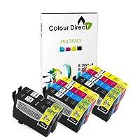 Colour Direct - 10 Kompatibel Tinte Kartuschen - 29XL Ersatz für Epson Expression Home XP-235 XP-245 XP-247 XP-332 XP-335 XP-342 XP-345 XP-432 XP-435 XP-442 XP-445 Drucker. 4 X 2991 2 x 2992 2 X 2993 2 X 2994 ( 10 Tintes )