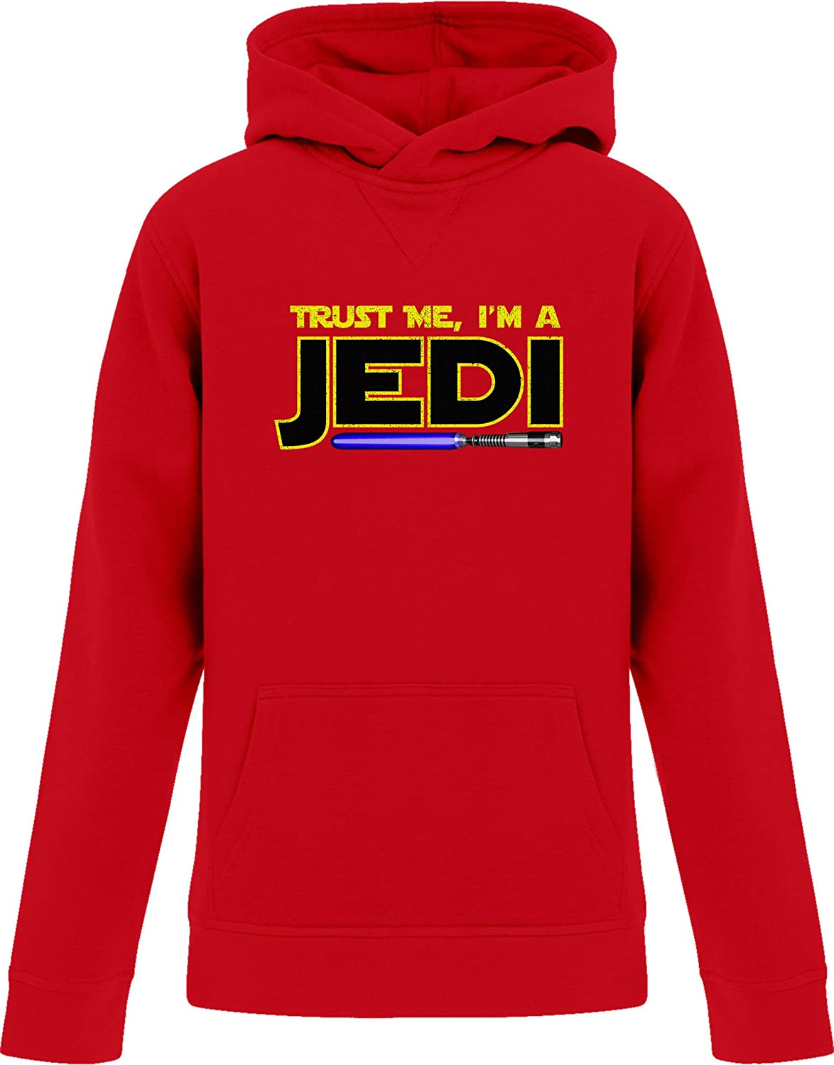 BSW Youth Girls Trust Me Im A Jedi Star Wars Saber Theme Hoodie