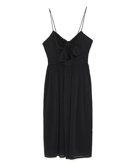 098cd1936320 Zara Women's Polka dot Dress with Knot Detail 7698/465: Amazon.co.uk ...