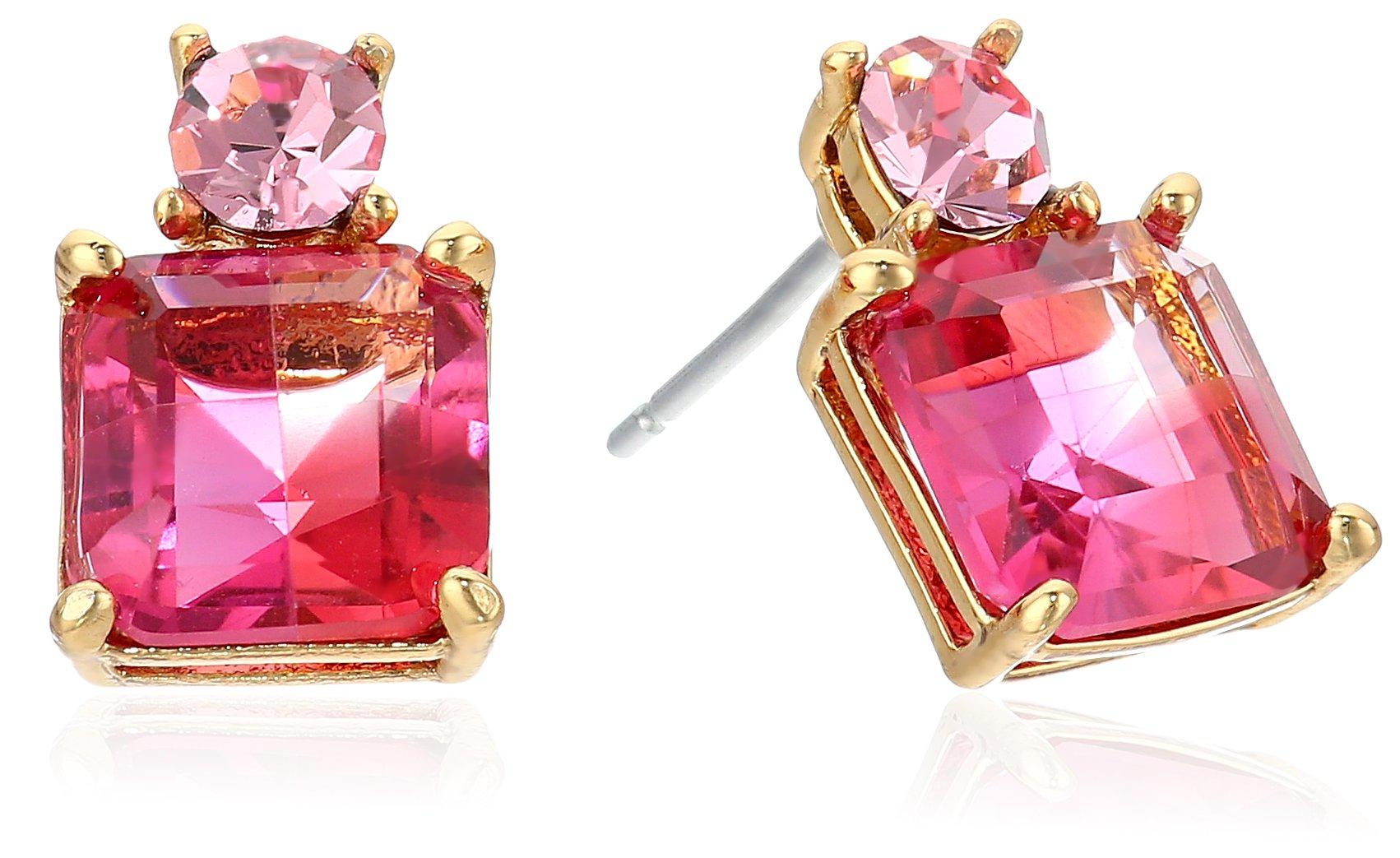 kate spade new york''Delicate Drop Earrings'' Flying Colors Delicate Pink Multi Drop Earrings by Kate Spade New York (Image #1)