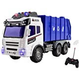 Remote Control Garbage Construction RC Truck Four Channel Full Function Battery Powered RC Construction Truck Toy
