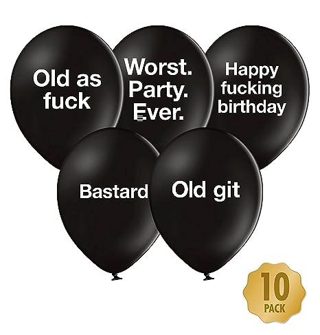Buy Abusive Birthday Balloons