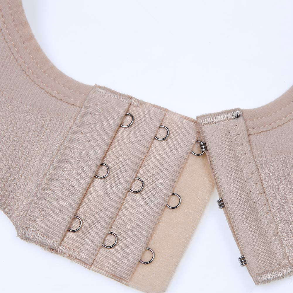 Rufun Soutien-Gorge Tire-Lait Mains Libres Allaitement Coton Doux pour lallaitement,Beige,L