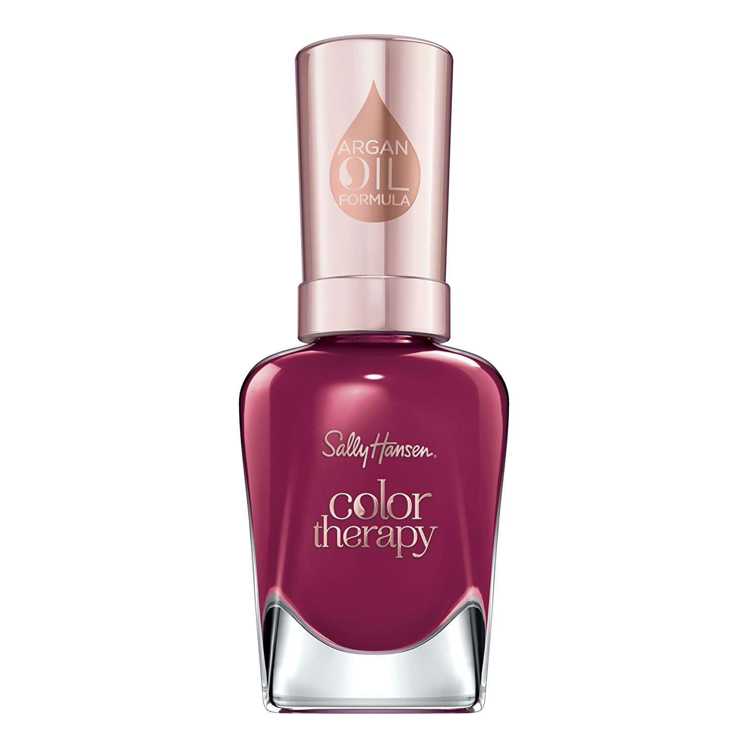 Sally Hansen Color Therapy Nail Polish, Ohm My Magenta, Pack of 1
