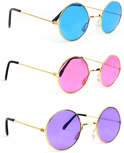 10 total pairs as a Lot. Funny party festival Sunglasses kids and adult