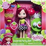 The Bridge Direct, Strawberry Shortcake, Surprise Party Doll, Strawberry Shortcake, 6 Inches