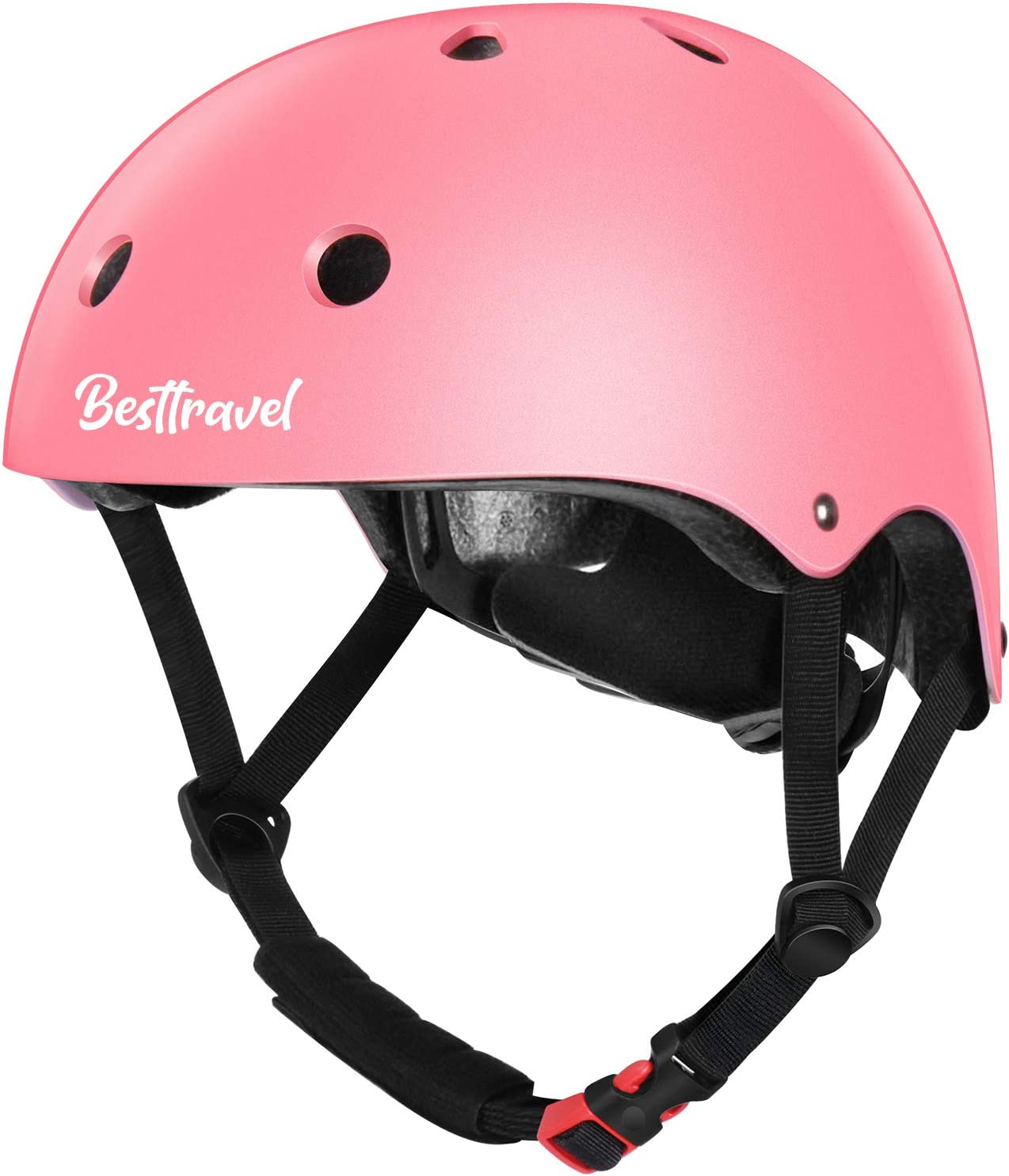 Besttravel Kids Helmets, Toddler Helmets Adjustable Toddler Bike Helmet Ages 3-8 Years Old Boys Girls Multi-Sports Safety Cycling Skating Scooter Helmet CPSC Certified