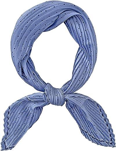 GERINLY المرأة منديل مطوي النقاط الحرير مثل وشاح ريترو الربيع سليم رئيس الأوشحة