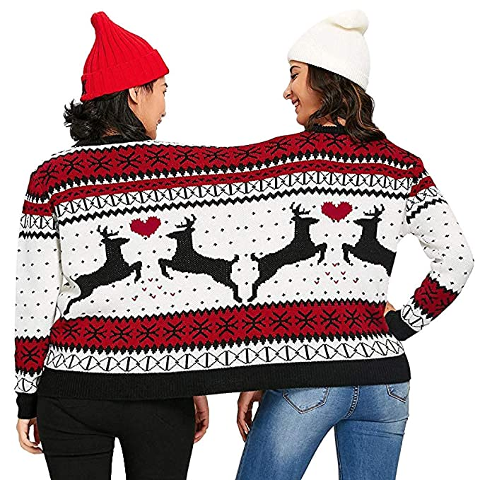 Amazon Two Person Ugly Christmas Sweater Xmas Couples