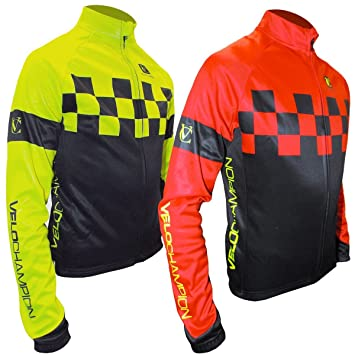 VeloChampion Chaqueta de Ciclismo Otono/Invierno Pro Thermo Tech Jacket