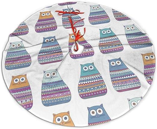 N/A Paddington - Falda para árbol de Navidad, diseño de Gato, 48 ...