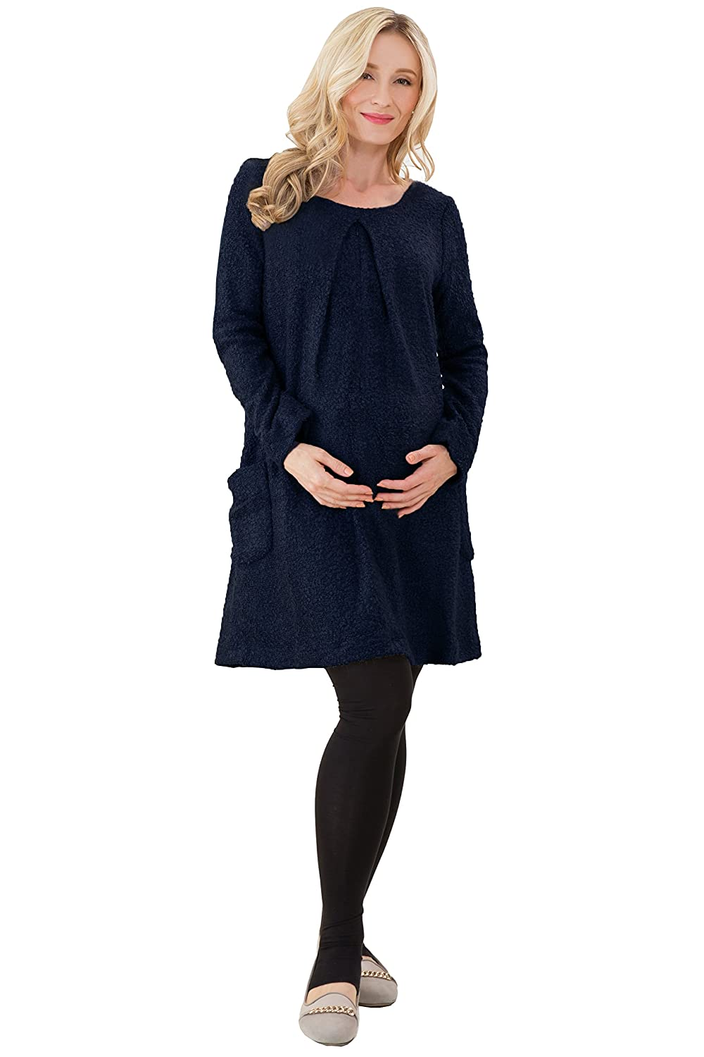 Sweet Mommy Maternity and Nursing Fluffy Tunic Dress Sweet Mommy Co. Ltd.