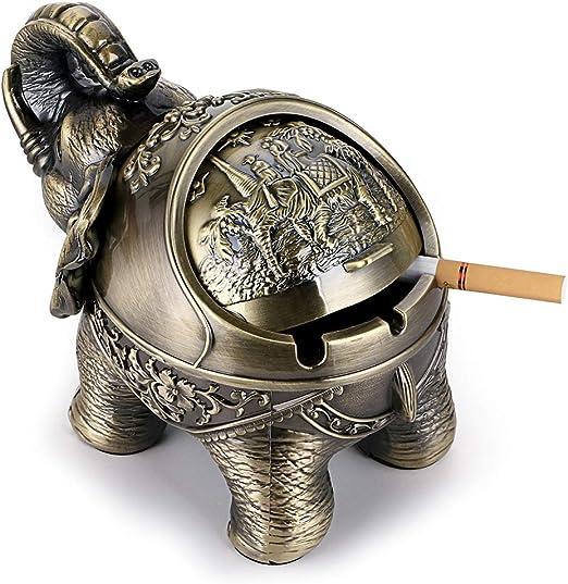 Vintage Zigarre Aschenbecher f/ür drau/ßen und drinnen