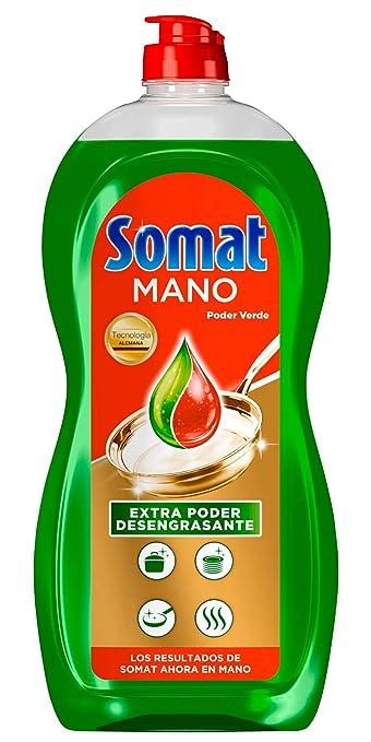 Somat Mano Poder Verde Lavavajillas - Paquete de 8 x 1028 gr: Amazon.es: Salud y cuidado personal