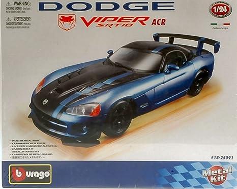 Burago BU25091 Dodge Viper SRT 10 Acr 2007 Kit 1:24 MODELLINO Model