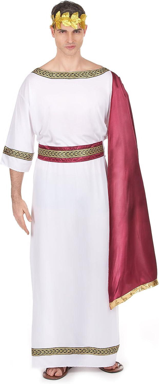 Disfraz emperador griego hombre Talla única: Amazon.es: Juguetes y ...
