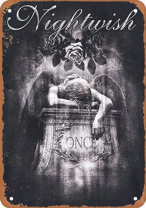 Nightwish Póster De Pared Metal Retro Placa Cartel Cartel De ...