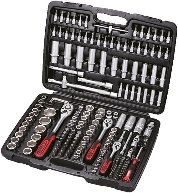 KS Herramientas Juego de herramientas clasico Set de 179 piezas de 1/4