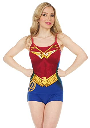 Wonder Woman Anatomical Short Set S
