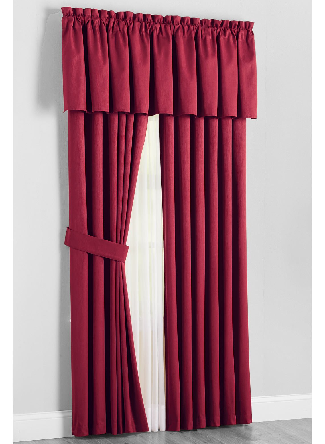 Carol Wright Gifts Kenneth Blackout Curtains, Burgundy
