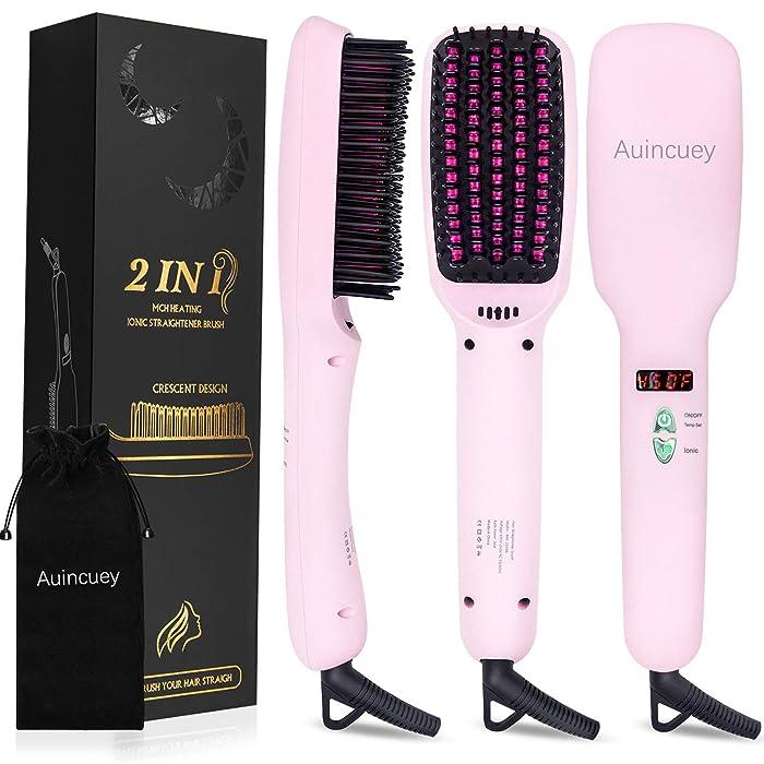 Top 10 Hair Straightening Brush Ion Heating Technology