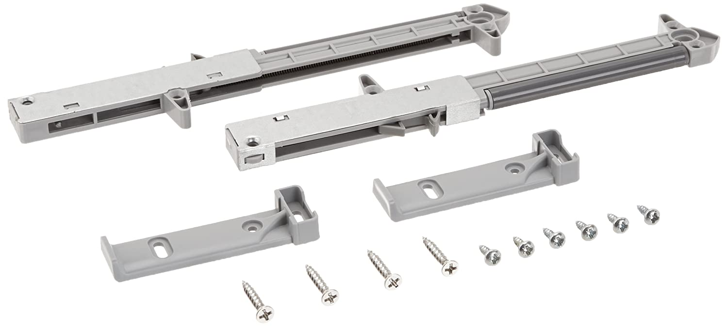 2 Pack Rok Hardware Soft Close For Wood Drawers / Soft Close Drawer Adapter  / Add On / Retrofit (Gray)     Amazon.com