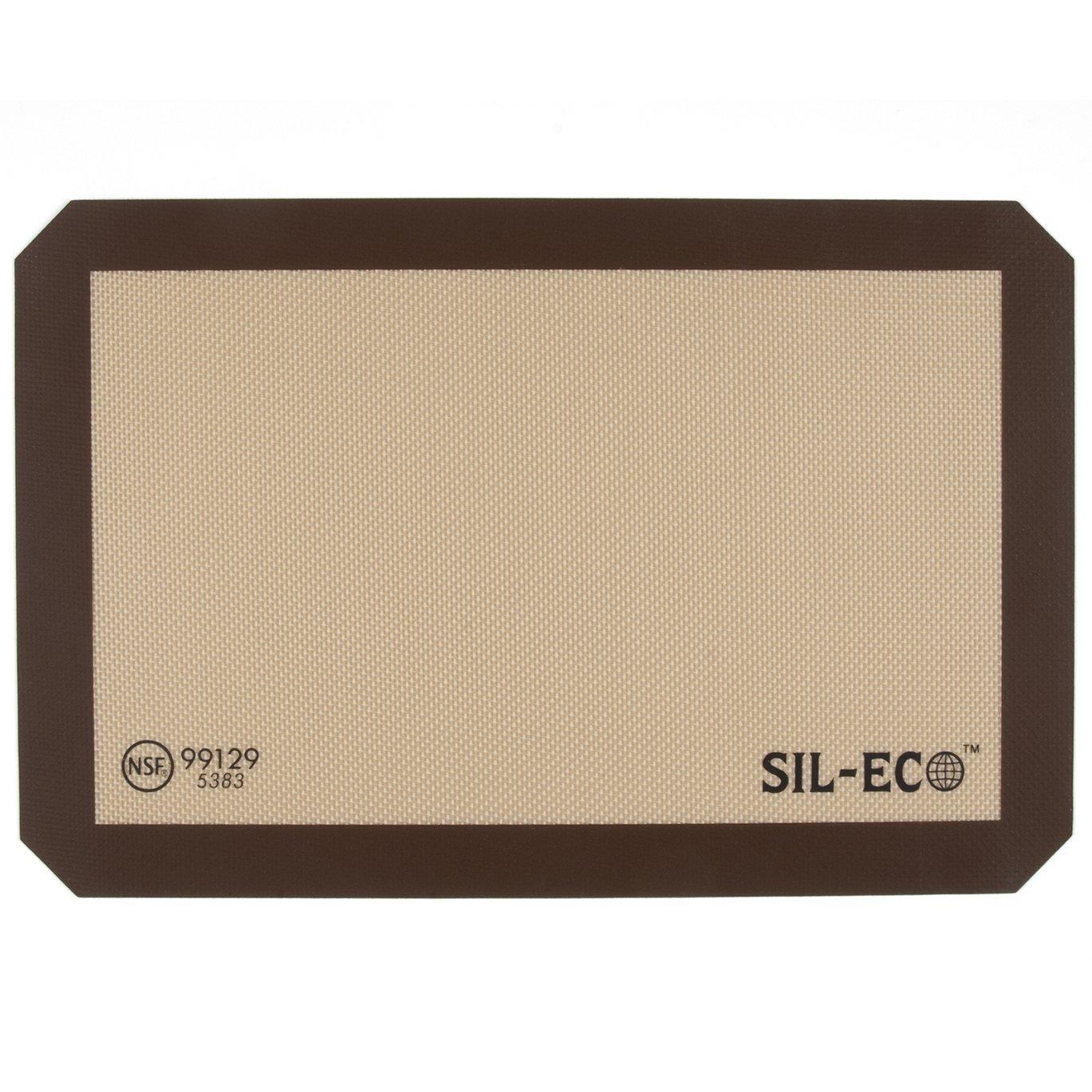 """Sil-Eco E-99129 Non-Stick Silicone Baking Liner, Medium Size, 9-1/2"""" x 14-3/8"""""""