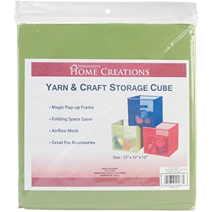 Yarn U0026 Craft Storage Cube 12u0026quot;X12u0026quot ...