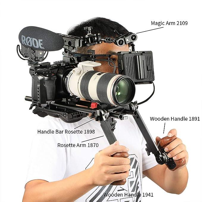 SMALLRIG BMPCC 4K, 6K Cage Compatible con Blackmagic Pocket Cinema ...