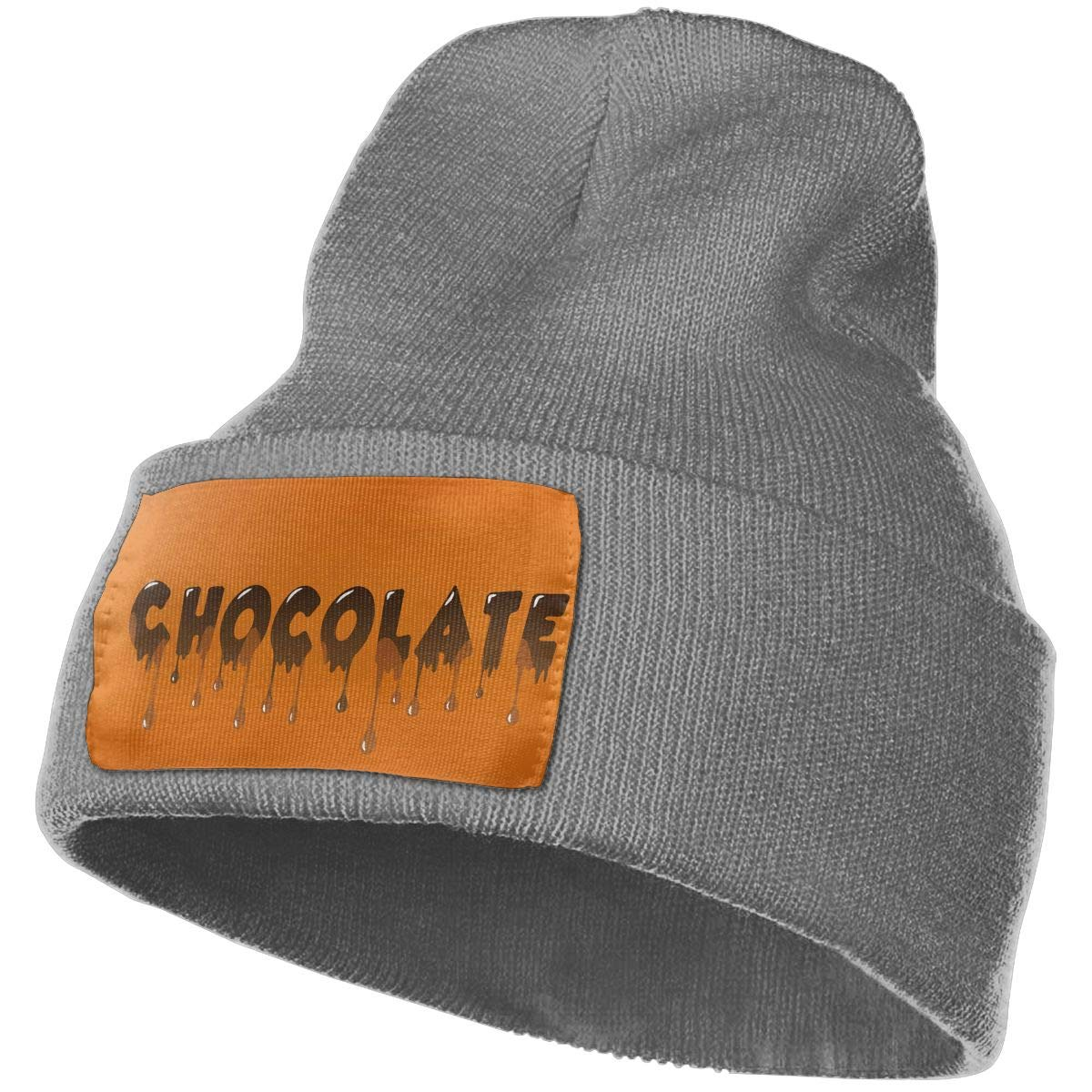 Deep Heather Beanie Hats Chocolate Material Knit Hedging Cap Slouchy Winter Warm Skull Caps For Men Womens