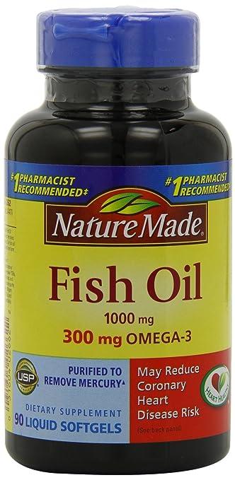 Aceite De Pescado En Capsulas - Con Omega 3 - Incluye 90 Pastillas De 300 mg