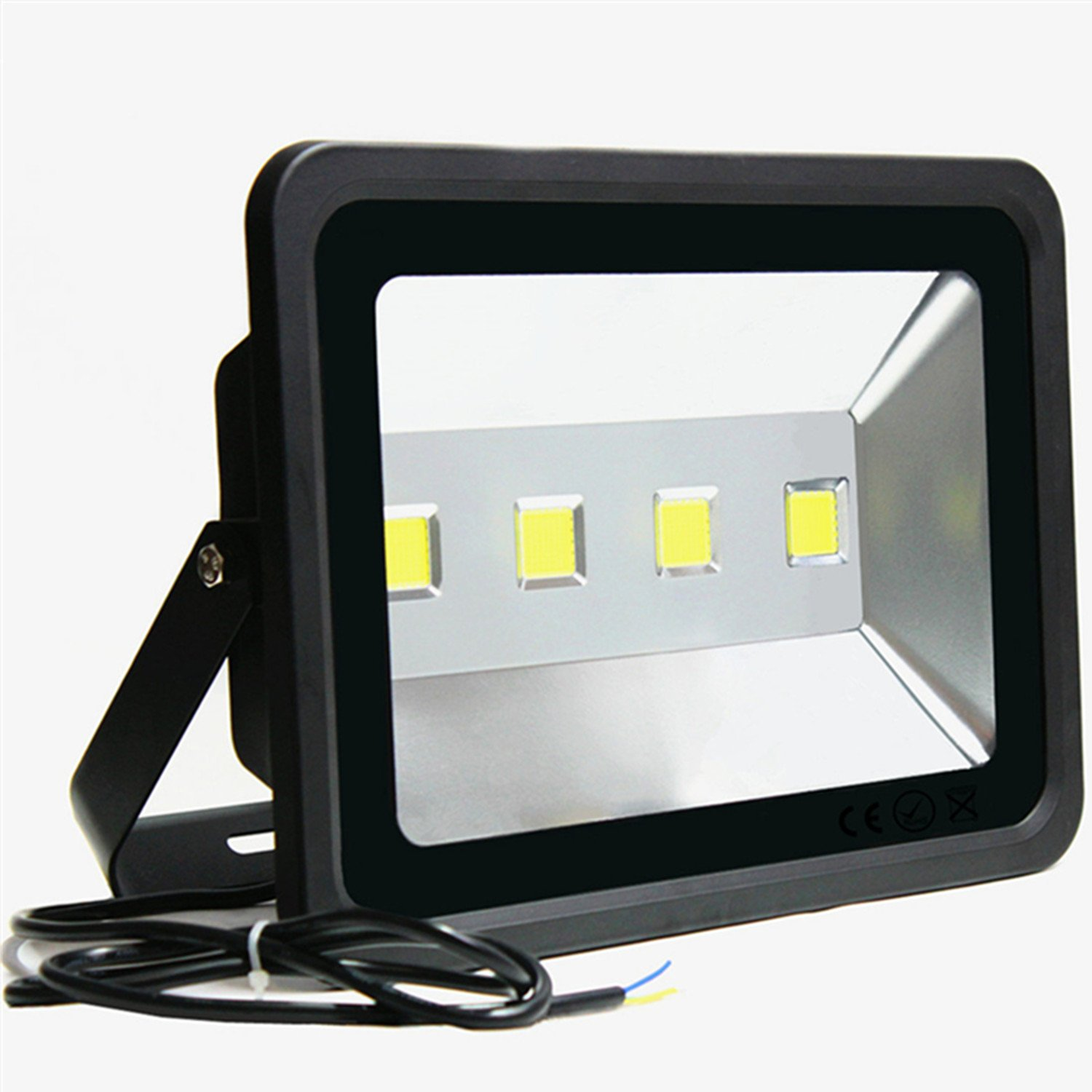 LED Flood Light 200W Outdoor –Jiuding SUPER BRIGHT 6000K Sunlight White 1000W Equivalent ,Waterproof Flood Lights Used for Party Playground 2 year warranty