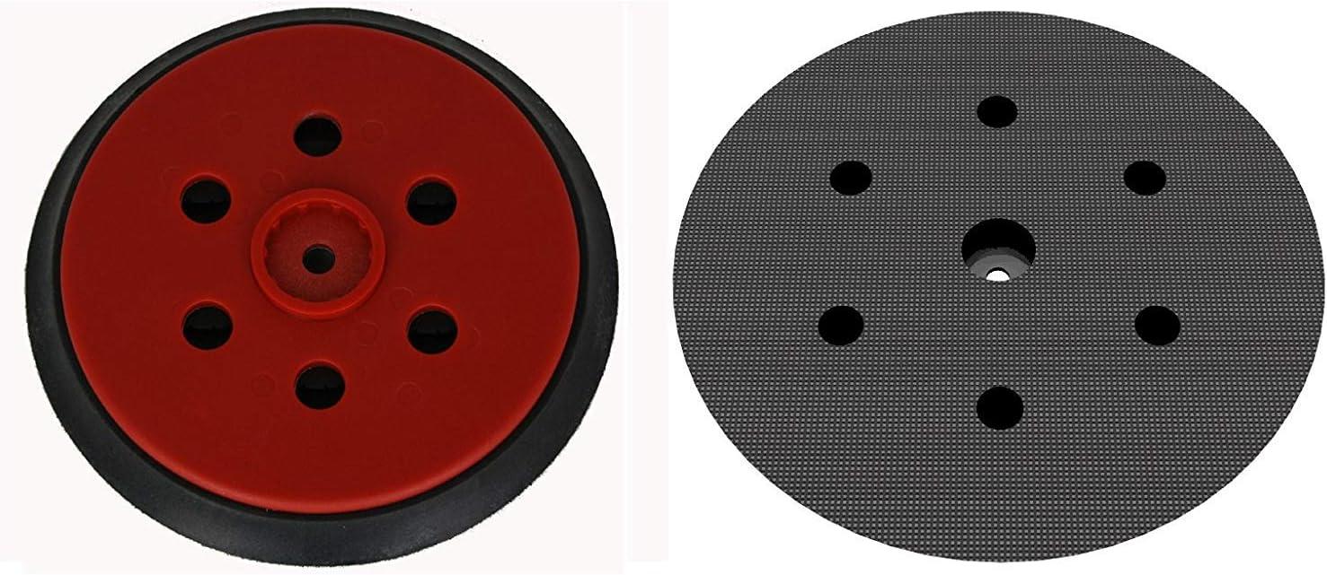 Schleifteller hart /Ø 150mm 3M Hookit 62743-8-fach gelocht f/ür kletthaftende Schleifscheiben