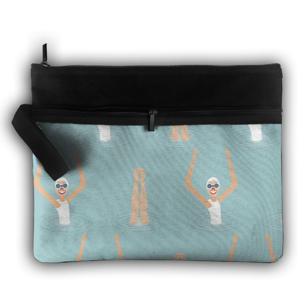 83453205f2 good Fancy Swimming Competition Lightweight Trip Toiletry Bag Travel  Receive Bag Artist Storage Bag