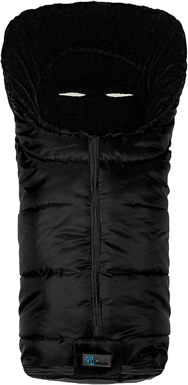 AltaBeBe Basic - Saco de abrigo para silla de paseo, color negro ...