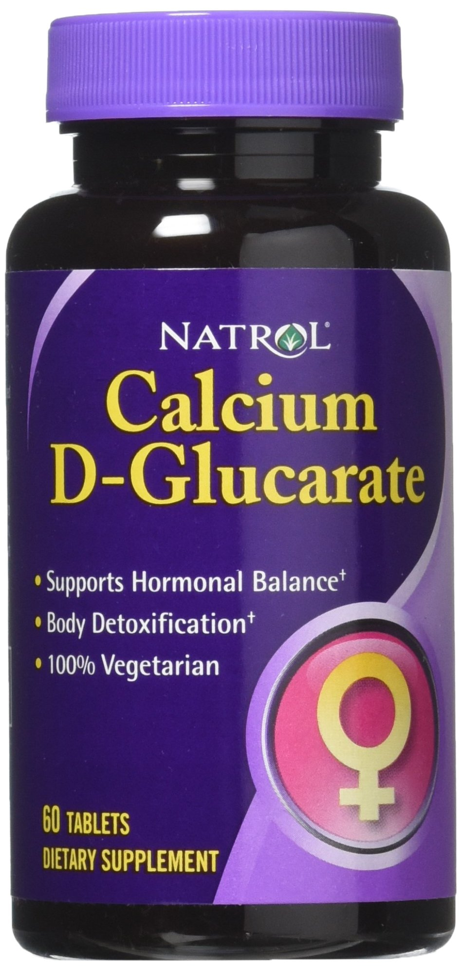 Natrol Calcium D-Glucarate Tablets, 250mg, 60 Count